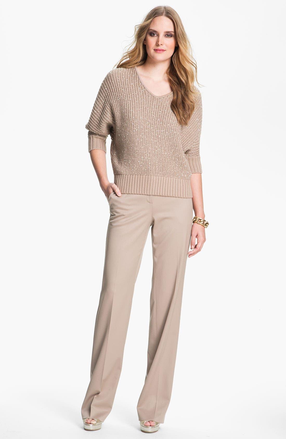 Alternate Image 2  - St. John Yellow Label Sequin Knit Sweater