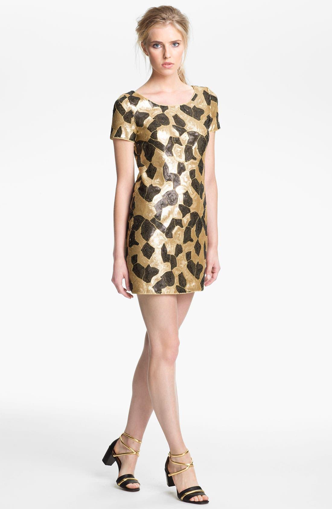 Alternate Image 1 Selected - Rachel Zoe 'Jannis' Sequin Dress