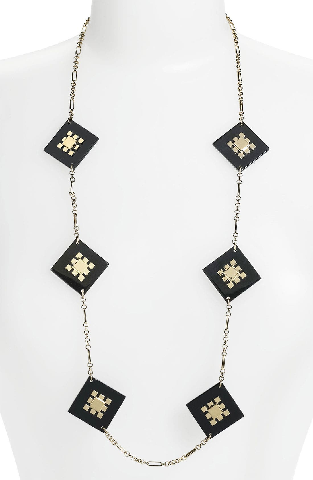 Alternate Image 1 Selected - Tory Burch Long Station Necklace