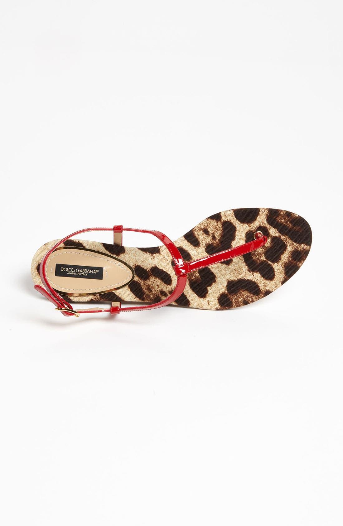 Alternate Image 3  - Dolce&Gabbana T-Strap Sandal