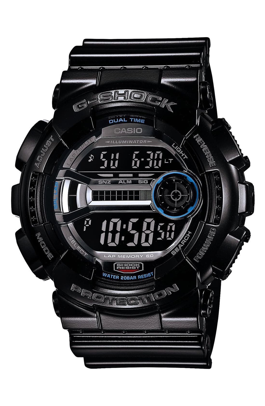 Alternate Image 1 Selected - G-Shock 'X-Large' Digital Watch, 55mm x 51mm