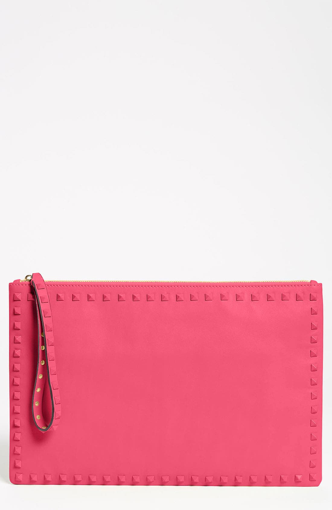 Alternate Image 1 Selected - Valentino 'Rockstud - Small' Leather Clutch