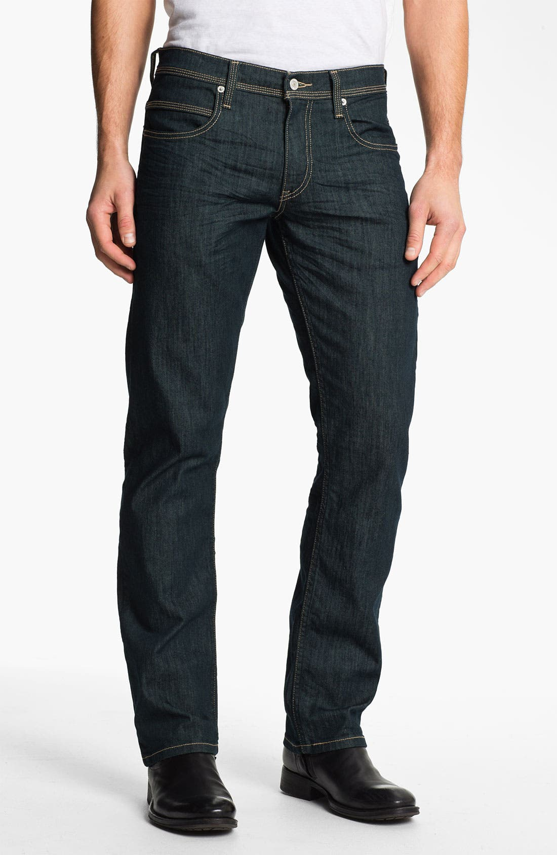 Alternate Image 2  - Levi's® '514™' Slim Straight Leg Jeans (Rinsed Playa)