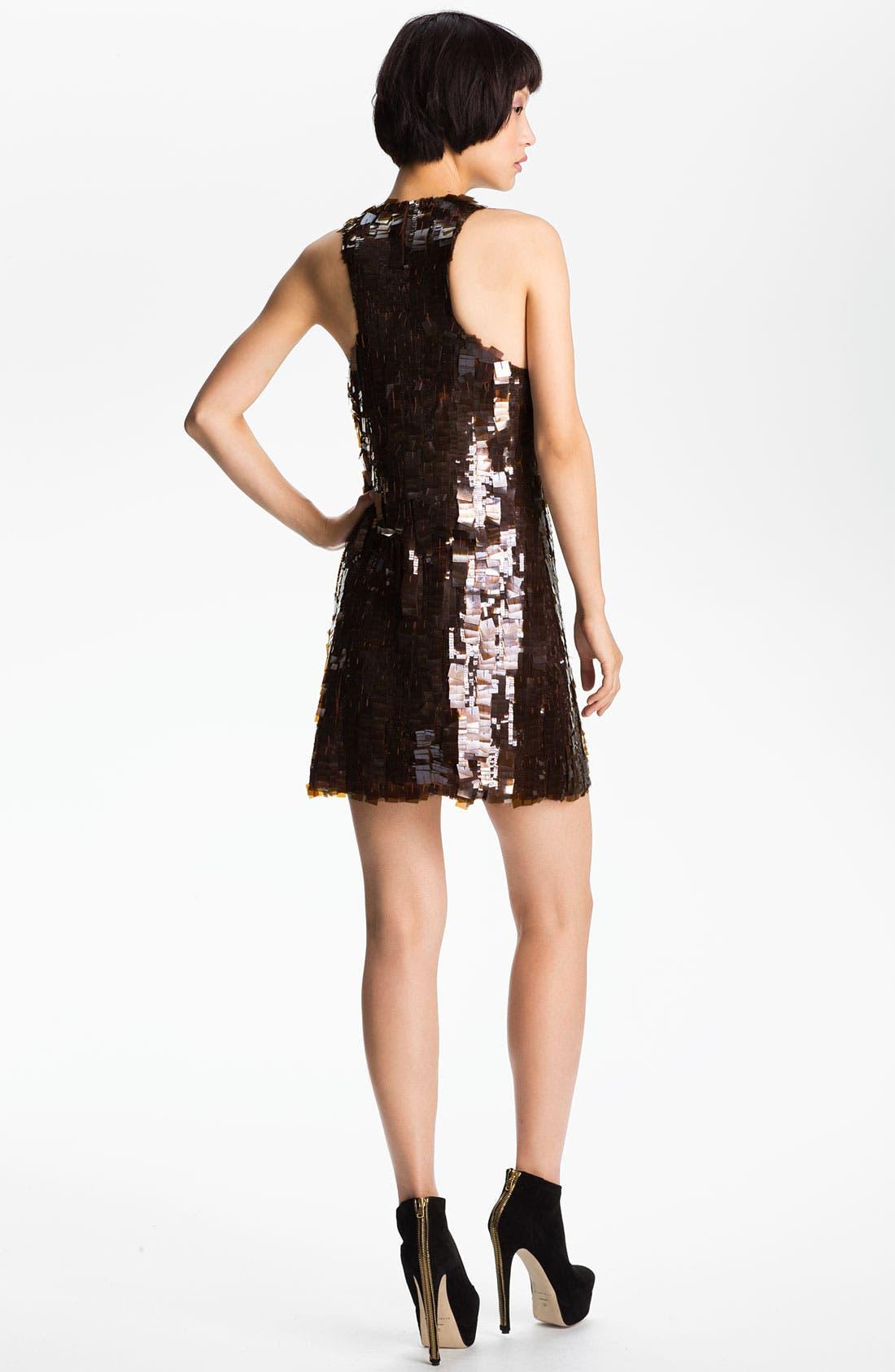 Alternate Image 2  - Skaist-Taylor 'Angie' Paillette Racerback Dress