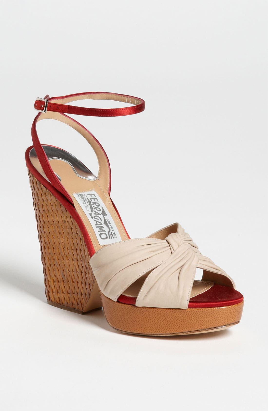 Alternate Image 1 Selected - Salvatore Ferragamo 'Suna' Sandal