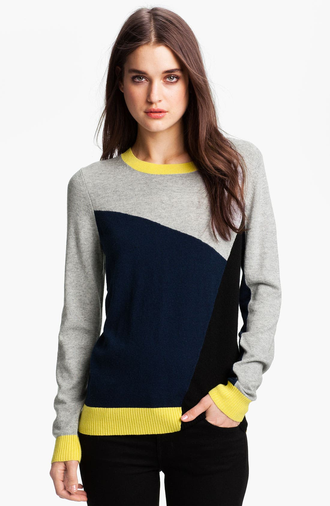 Alternate Image 1 Selected - Joie 'Emani' Colorblock Sweater