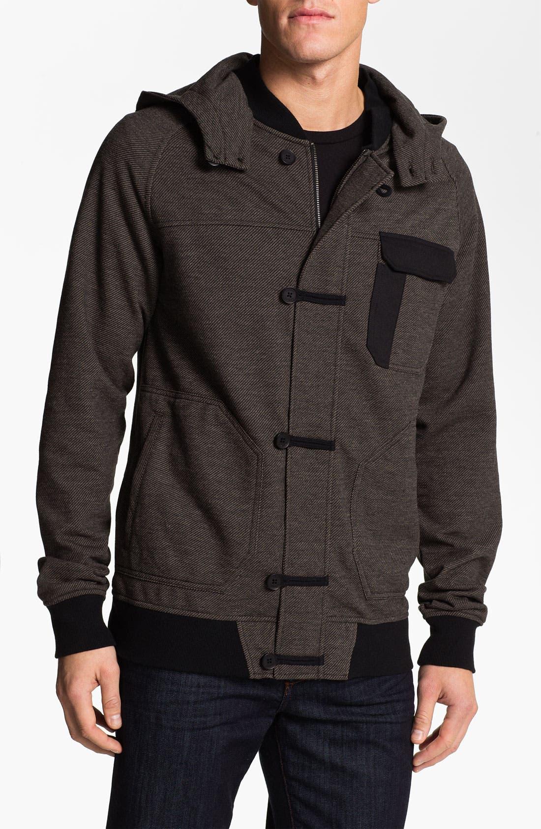 Alternate Image 1 Selected - Ezekiel 'Jaxson' Sweatshirt Jacket