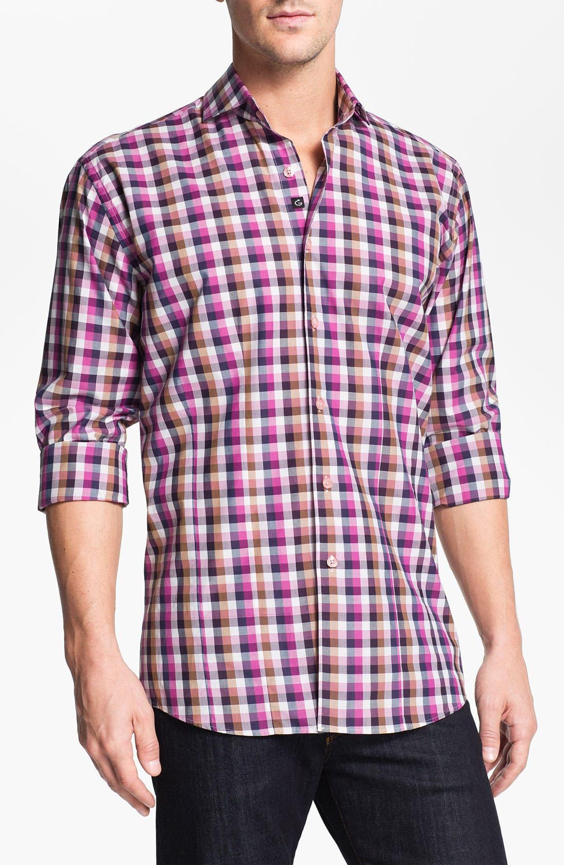 Alternate Image 1 Selected - Bogosse 'Chain 46' Sport Shirt