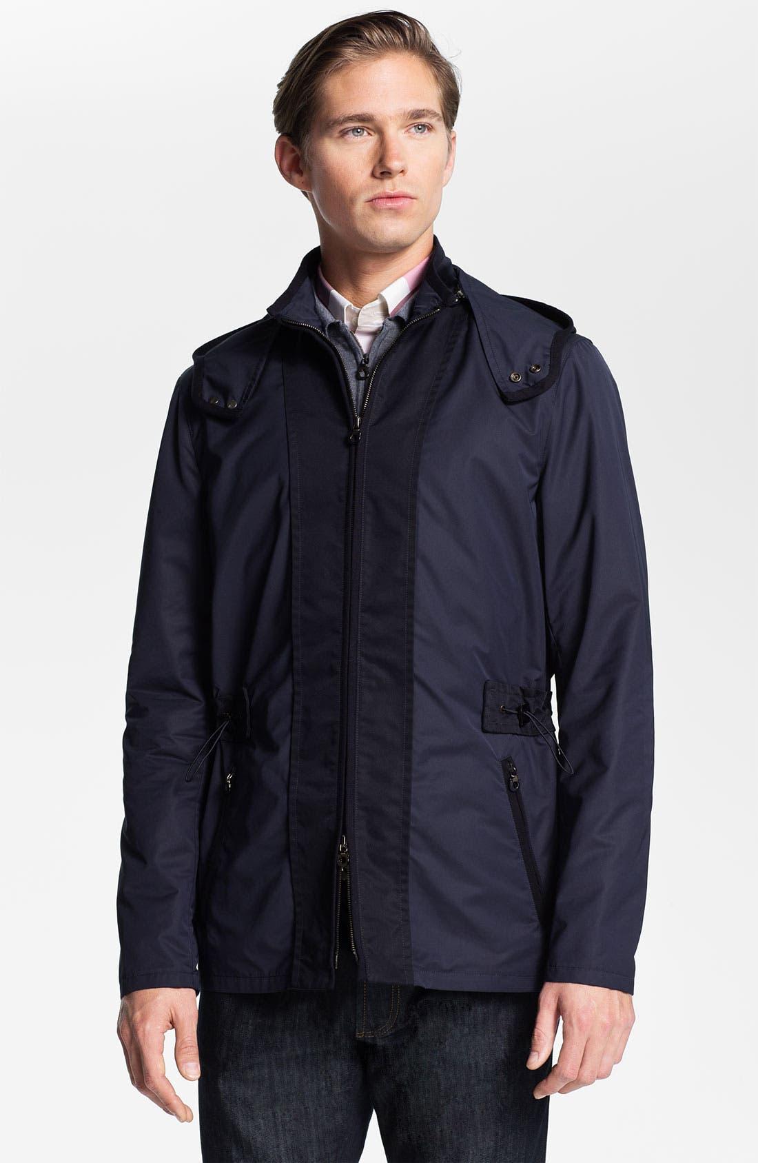 Alternate Image 1 Selected - Salvatore Ferragamo Hooded Jacket