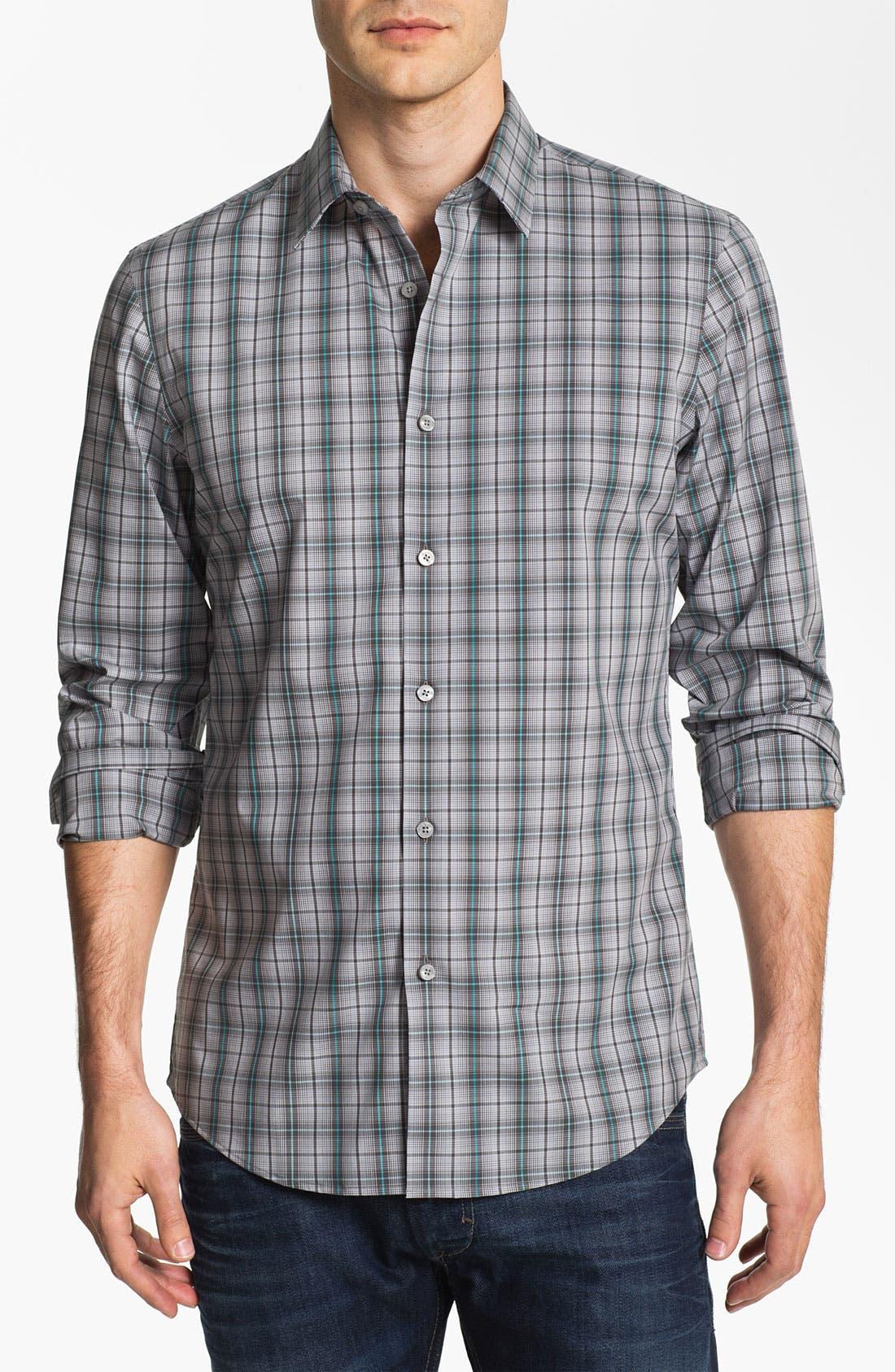 Alternate Image 1 Selected - Calibrate Non Iron Regular Fit Sport Shirt
