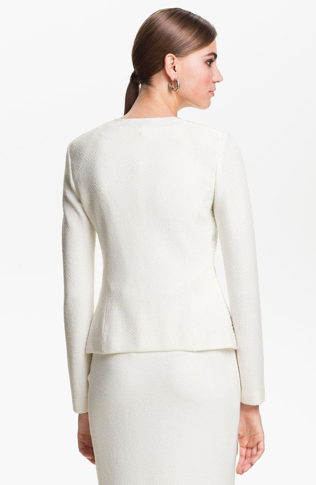 Alternate Image 4  - St. John Collection Cosmopolitan Tweed Jacket