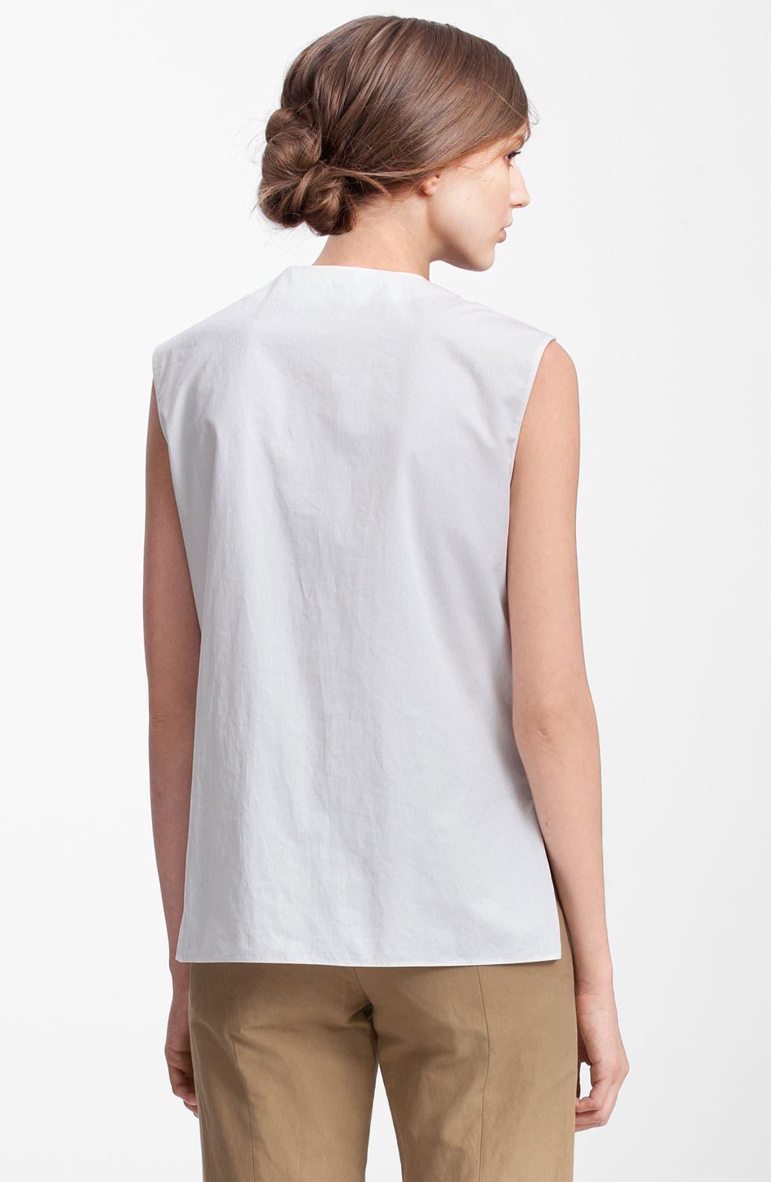 Alternate Image 2  - Marni Edition Patch Pocket Gabardine Shirt