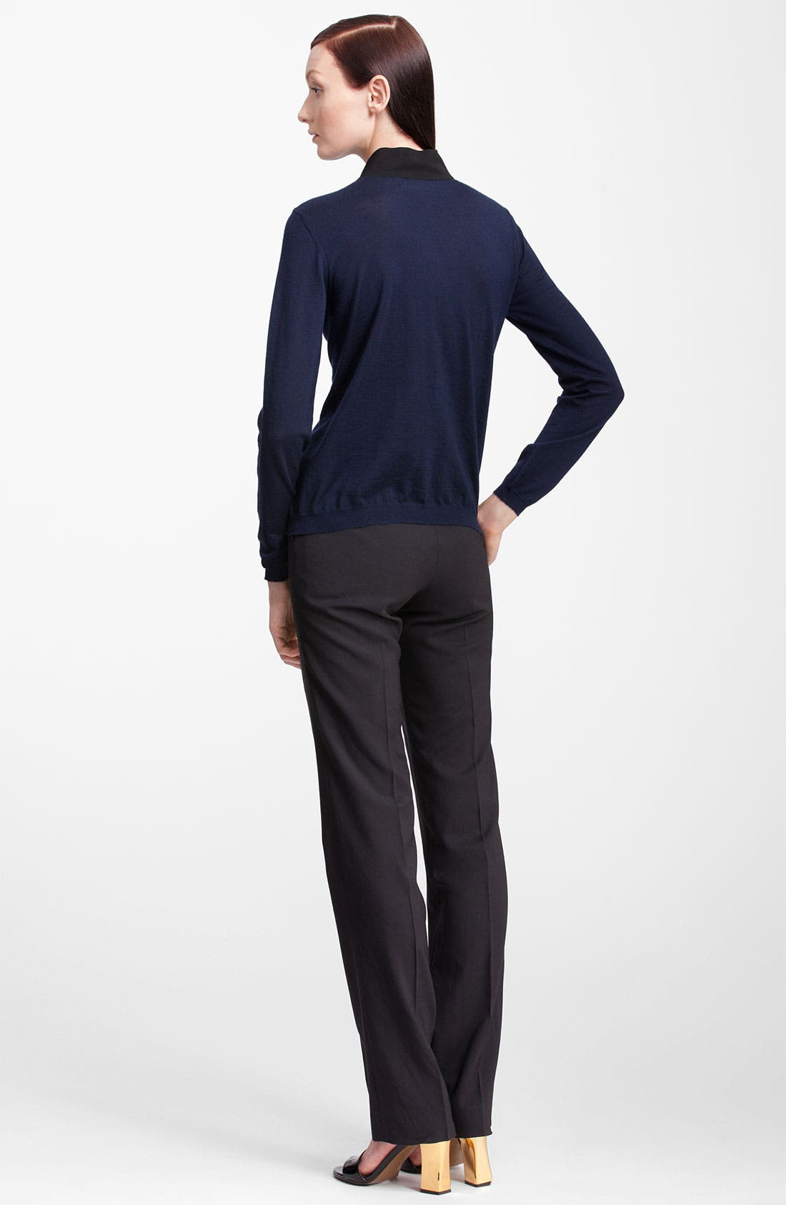 Alternate Image 3  - Marni Bicolor Bow Cashmere Cardigan