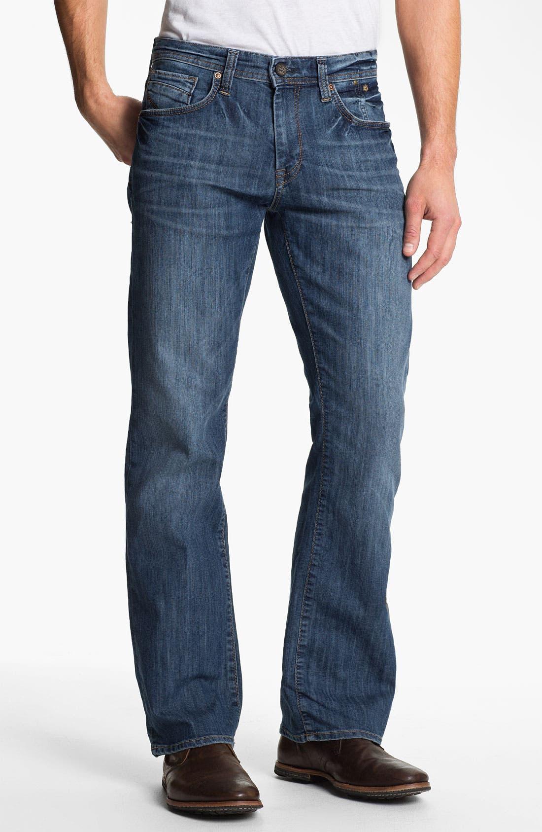 Alternate Image 2  - Mavi Jeans 'Josh' Bootcut Jeans (Mid Blue Eastwood)
