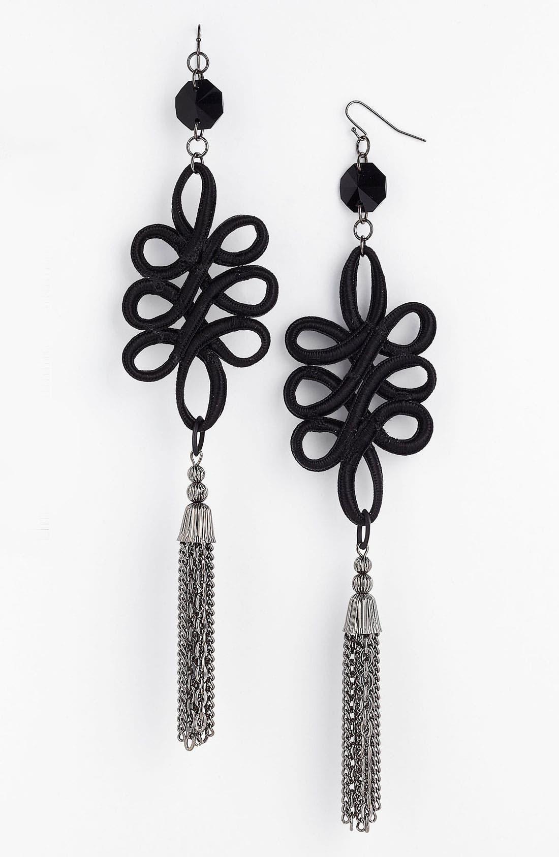 Alternate Image 1 Selected - Bonnie Jonas Metal Tassel Earrings