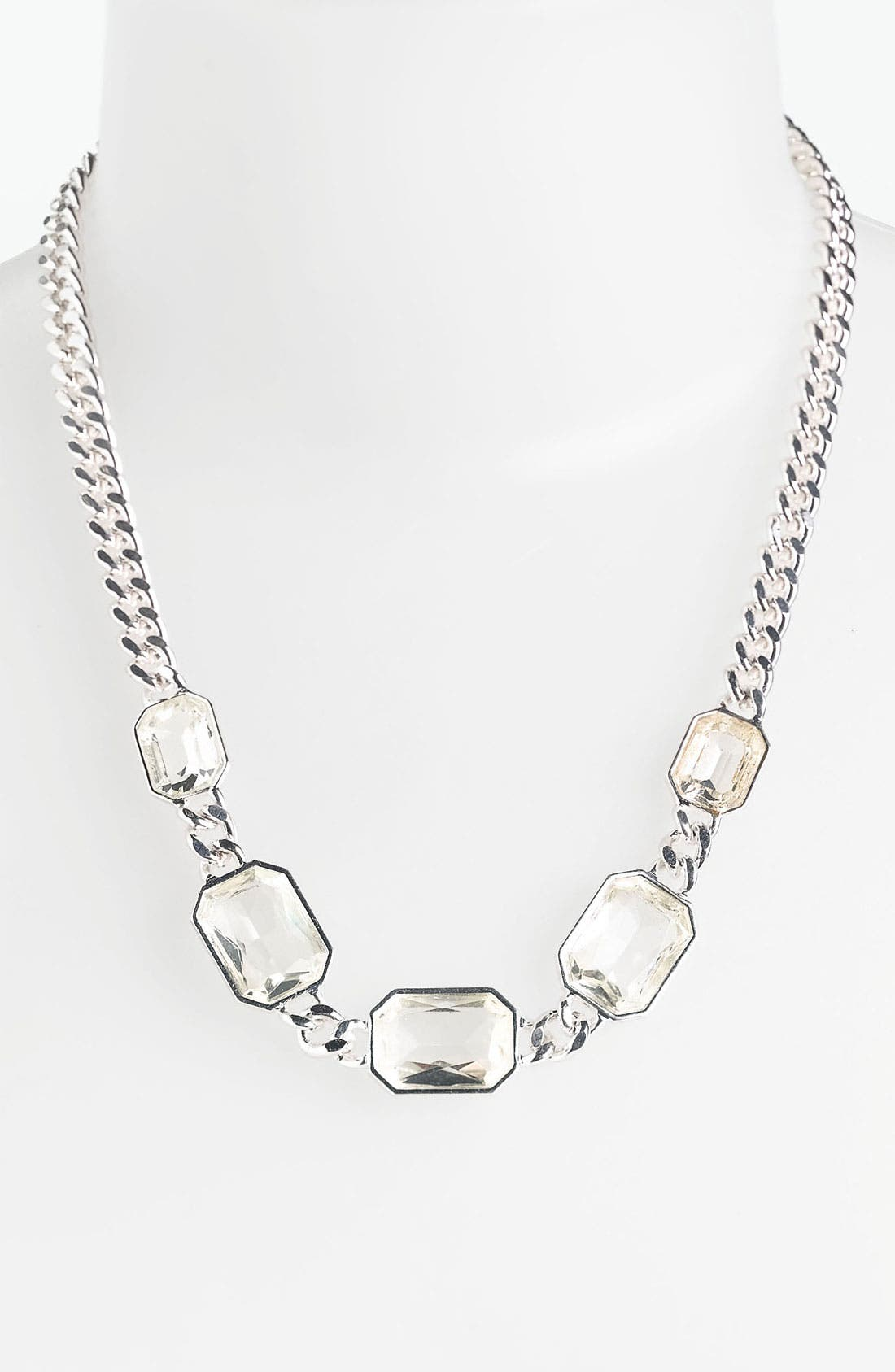 Main Image - Anne Klein Frontal Necklace