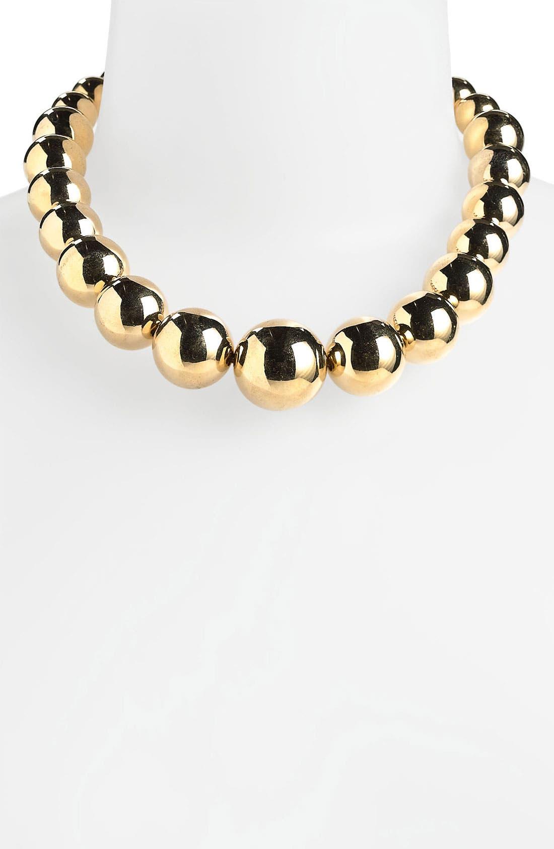 Main Image - Michael Kors Beaded Collar Necklace