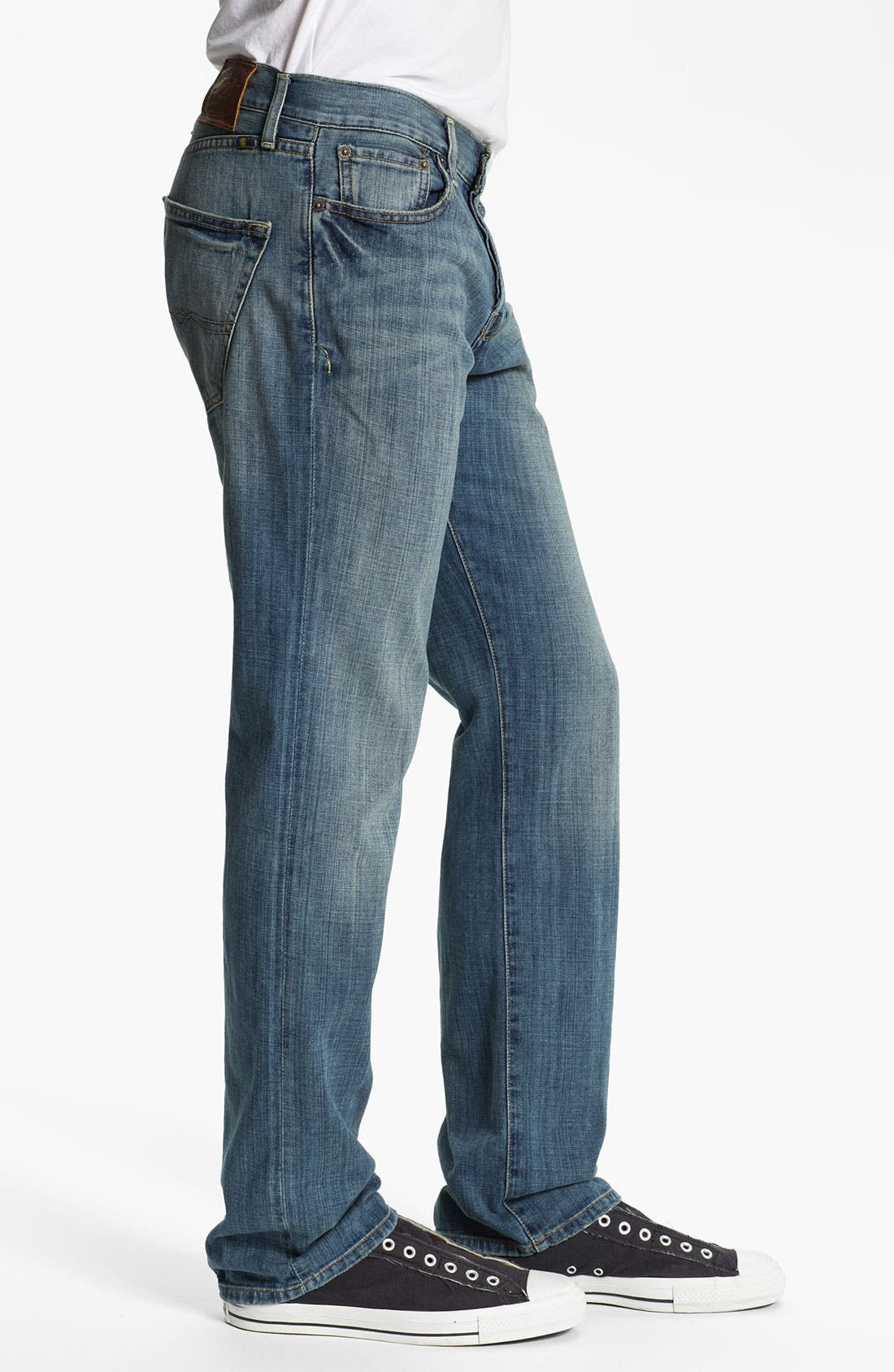 Alternate Image 3  - Lucky Brand '221 Original' Straight Leg Jeans (Quartzite)