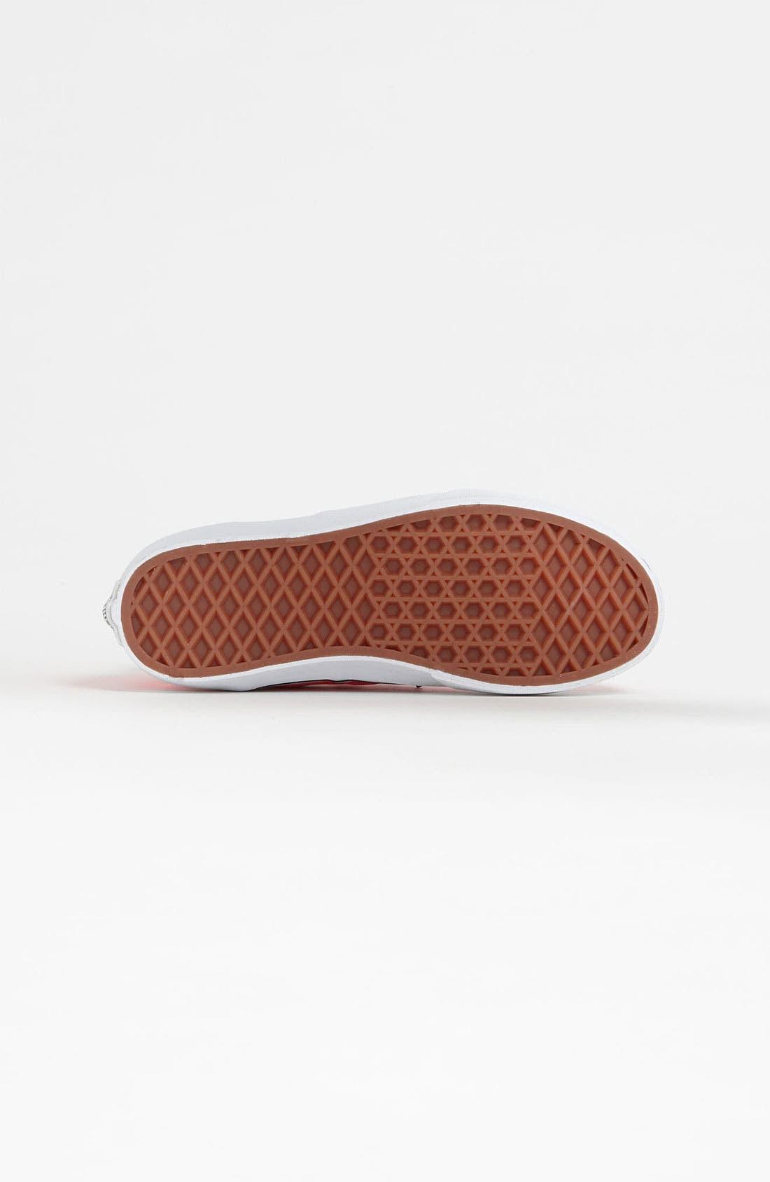 Alternate Image 4  - Vans 'Authentic - Hi' Sneaker (Toddler, Little Kid & Big Kid)