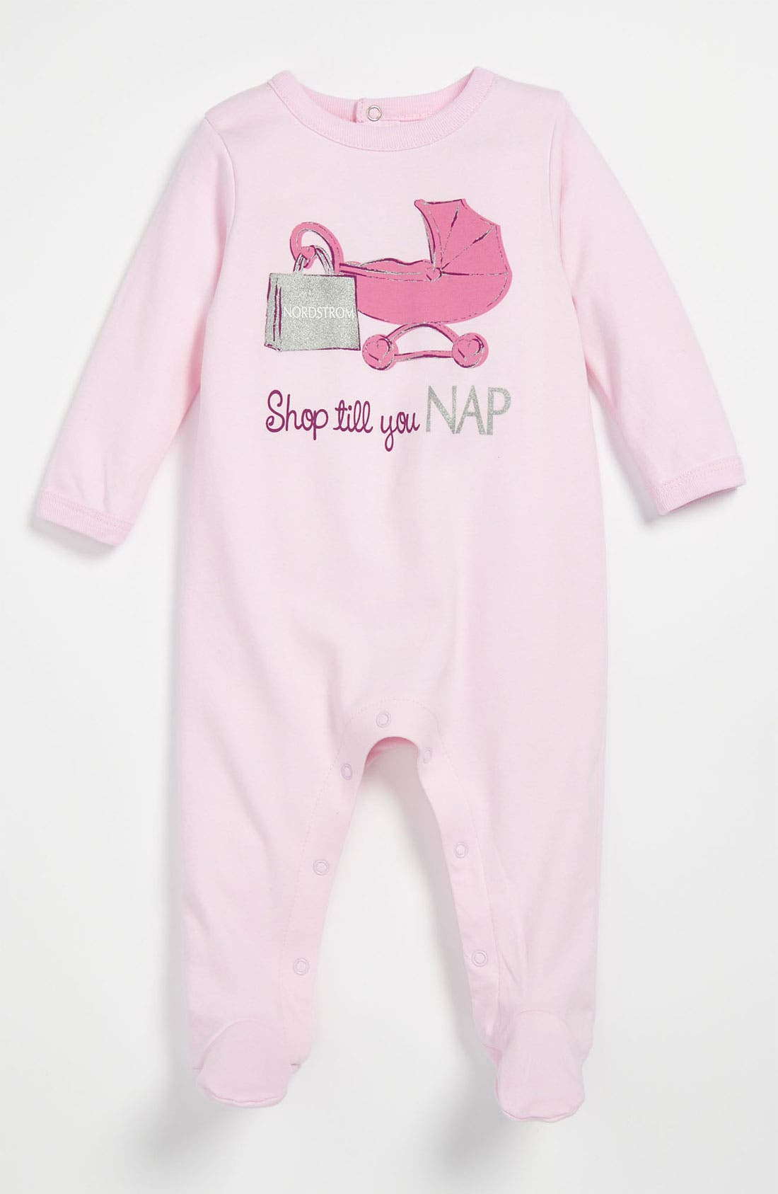 Alternate Image 1 Selected - Sara Kety Baby & Kids 'Nordstrom Nap' Footie (Infant)