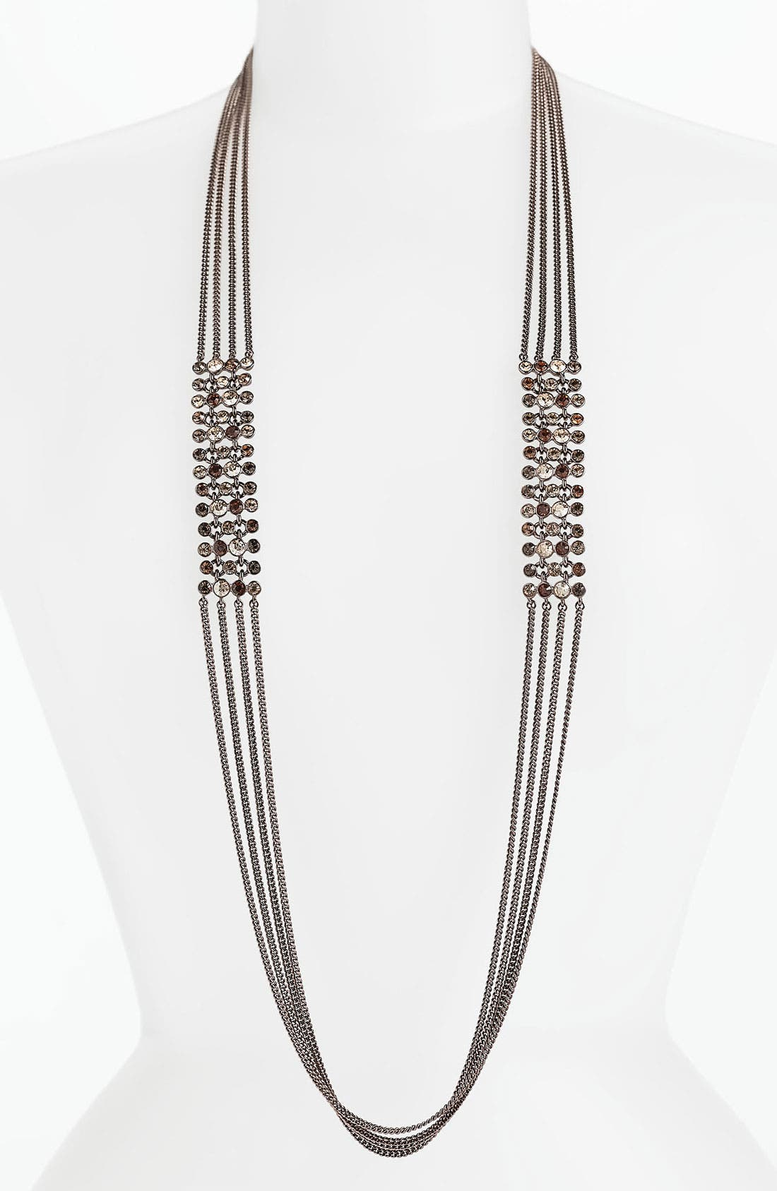 Alternate Image 1 Selected - Givenchy Long Multistrand Necklace