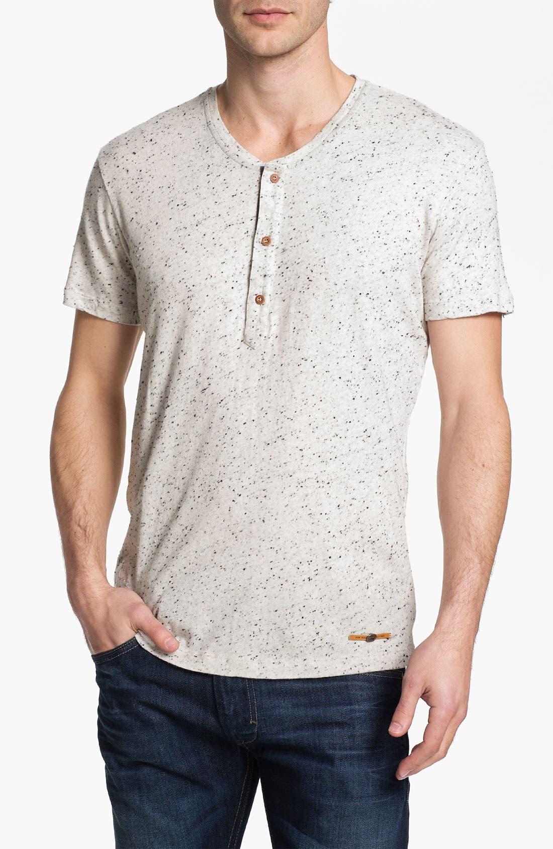 Main Image - DIESEL® 'Tropex' Henley T-Shirt
