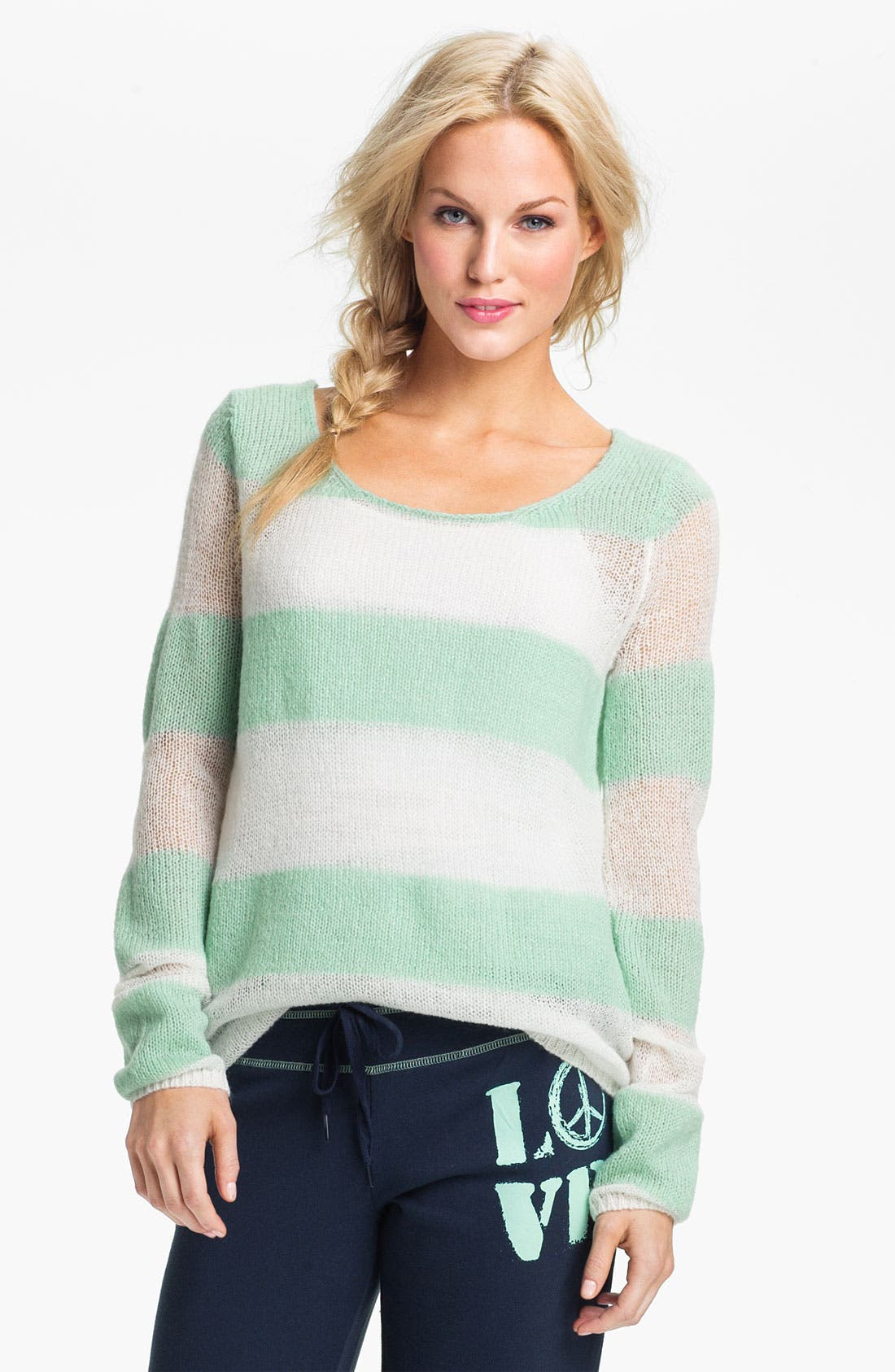 Alternate Image 1 Selected - PJ Salvage 'Eye Candy' Sweater