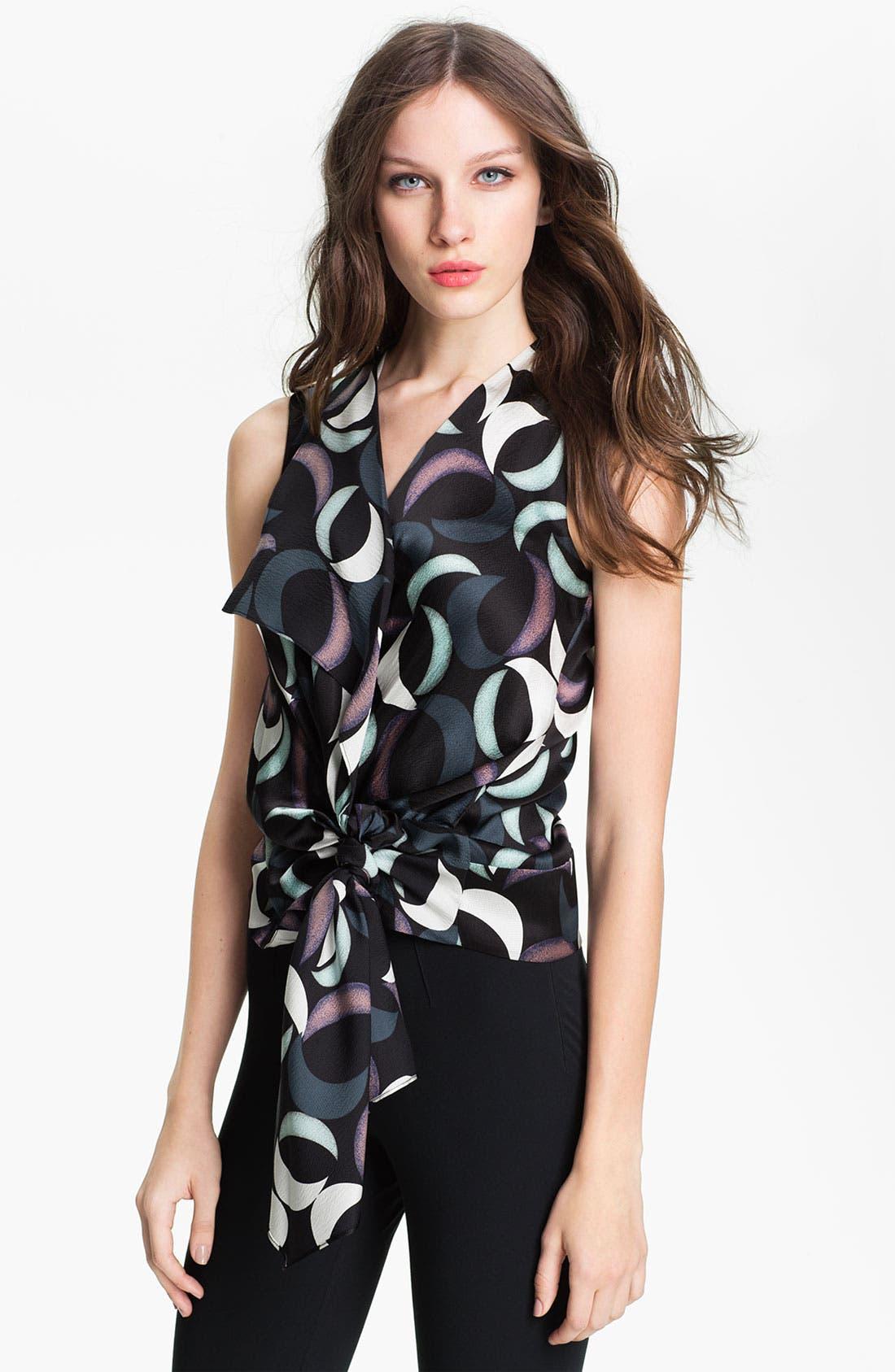 Alternate Image 1 Selected - Diane von Furstenberg 'Balisi' Silk Blouse