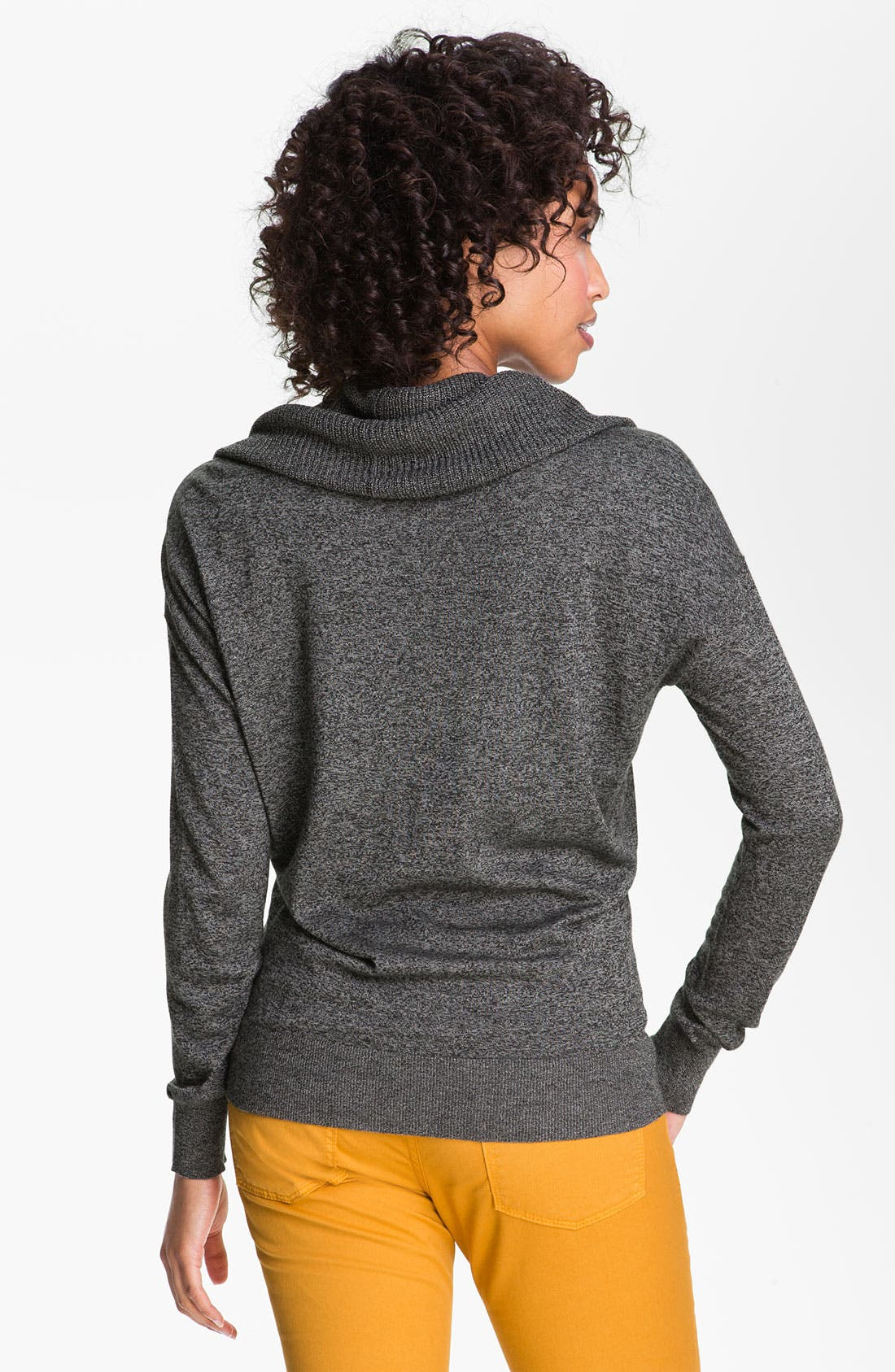 Alternate Image 2  - Caslon® Cowl Neck Sweater (Petite)