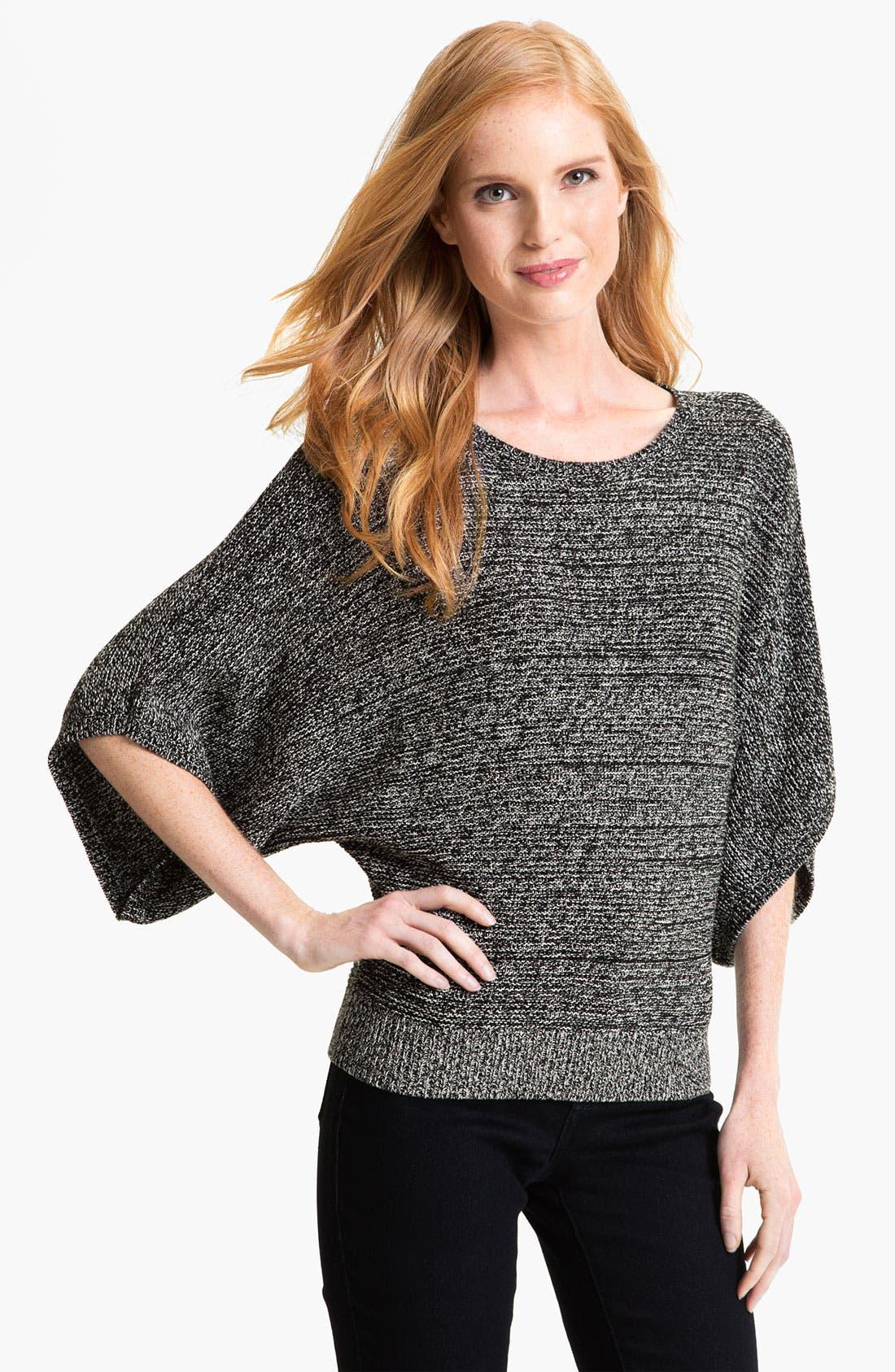Alternate Image 1 Selected - Chaus Marled Bateau Neck Sweater