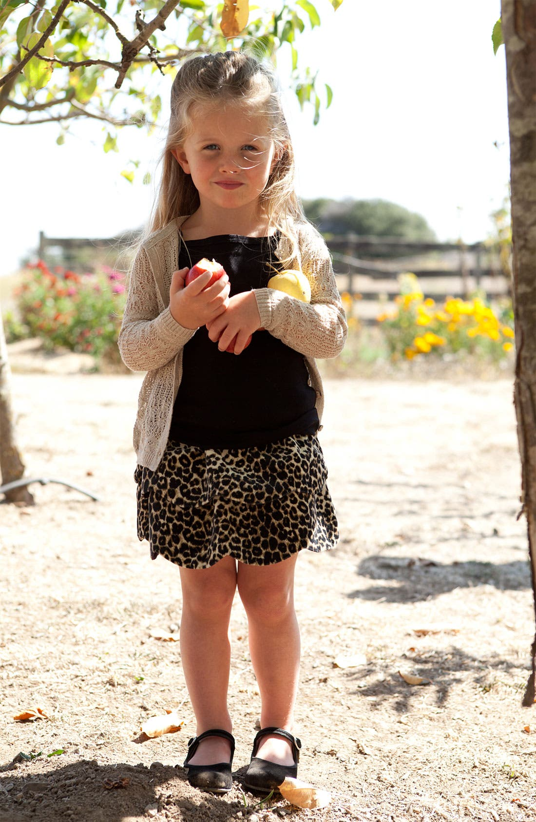 Alternate Image 2  - Peek 'Fontaine' Cardigan (Toddler & Little Girls)