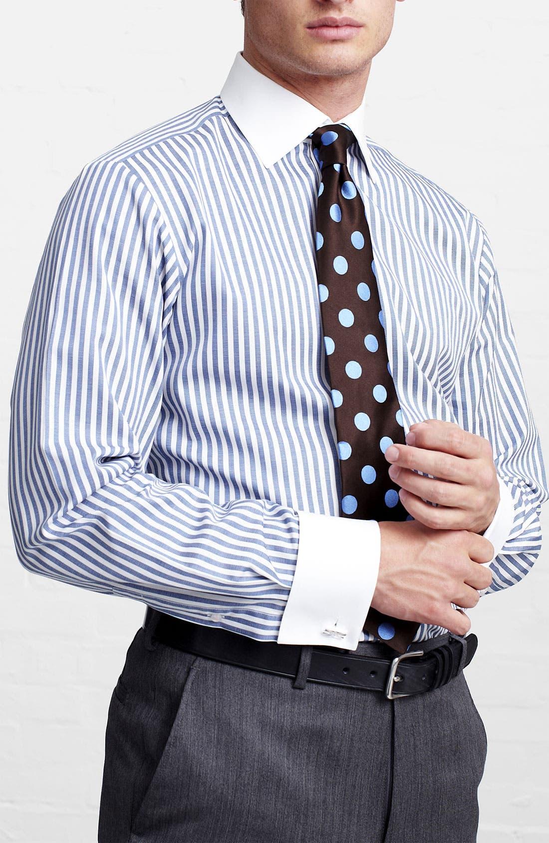 Alternate Image 2  - Thomas Pink Slim Fit Dress Shirt