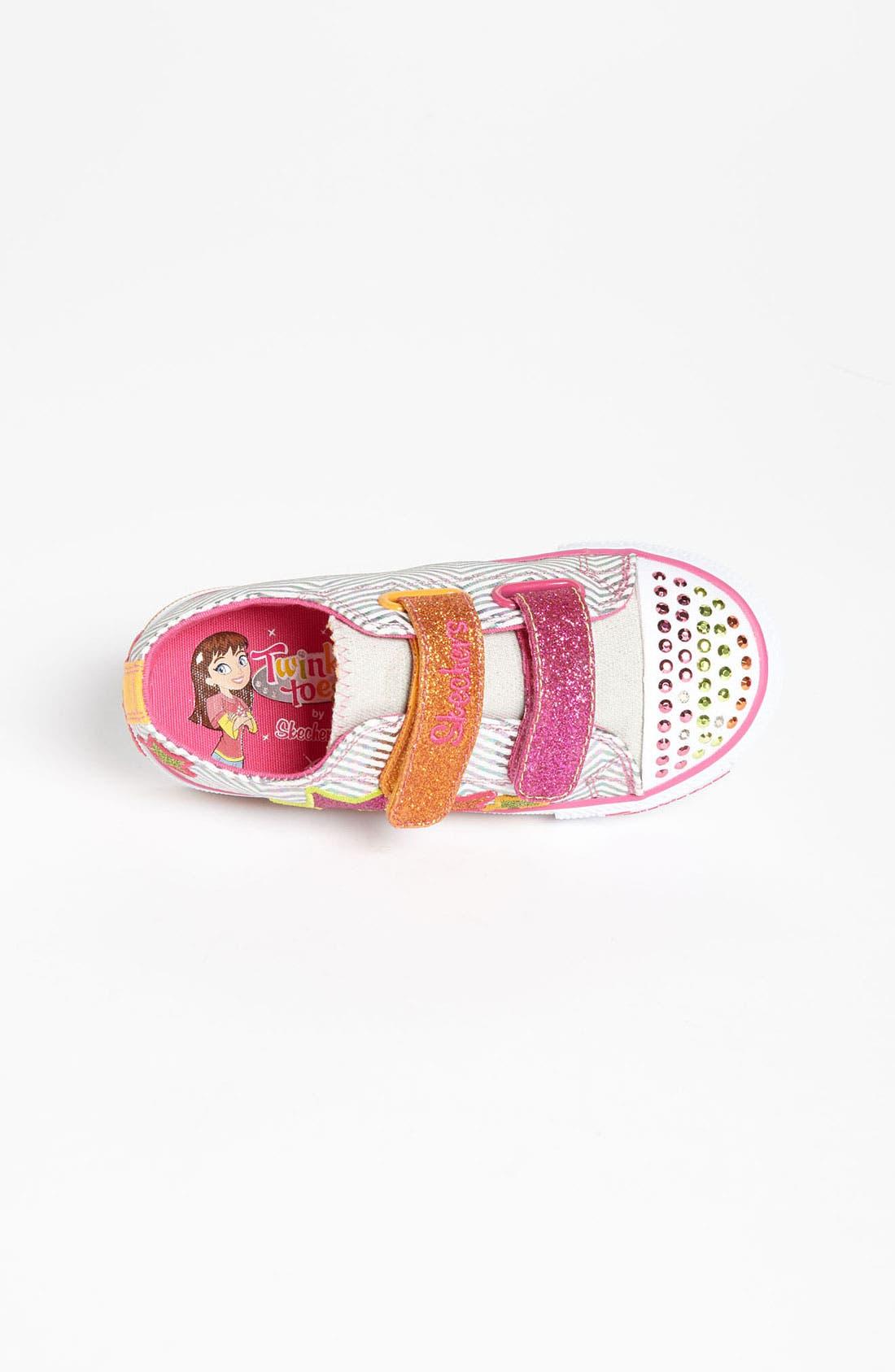 Alternate Image 3  - SKECHERS 'Shuffles' Light-Up Sneaker (Walker & Toddler)