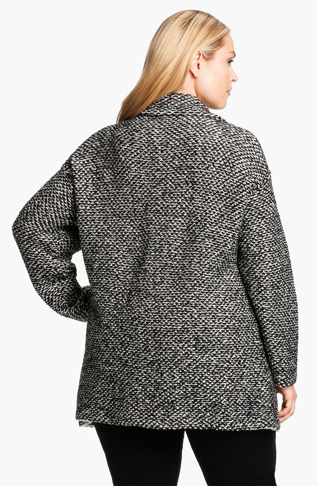 Alternate Image 2  - Eileen Fisher Organic Cotton Jacket (Plus)