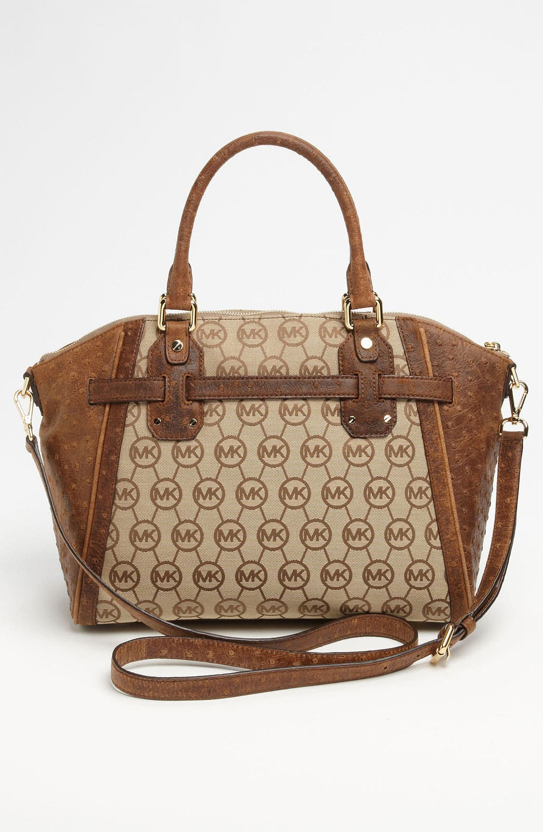 Alternate Image 4  - MICHAEL Michael Kors 'Hudson - Large' Satchel