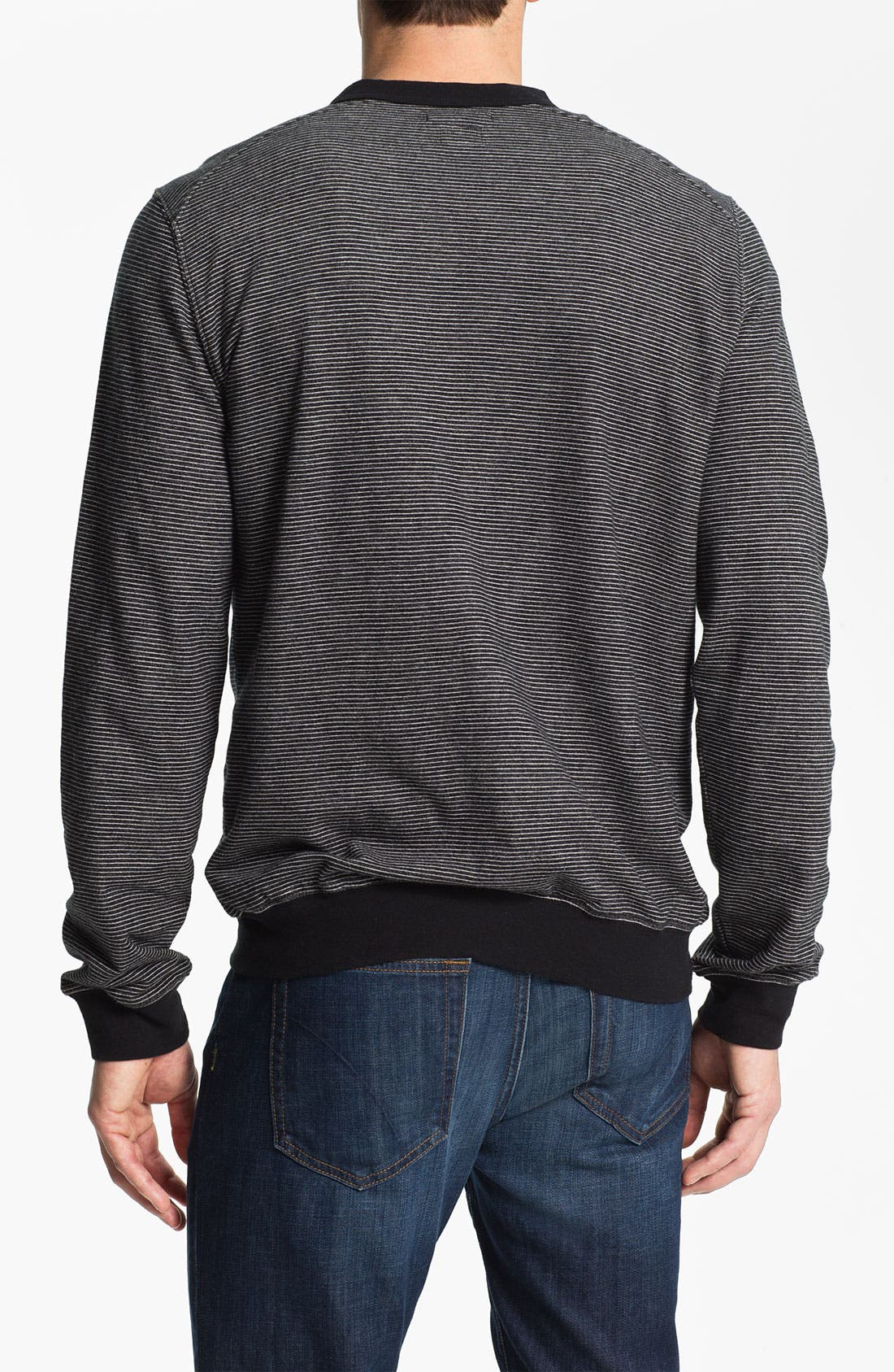 Alternate Image 2  - RVCA 'Skaville' French Terry Cardigan