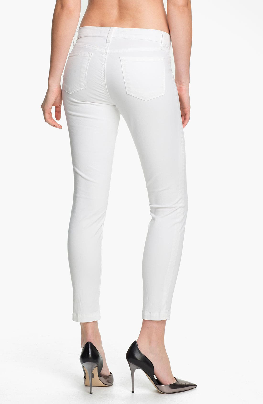 Alternate Image 2  - J Brand 'Harper' Crop Skinny Jeans