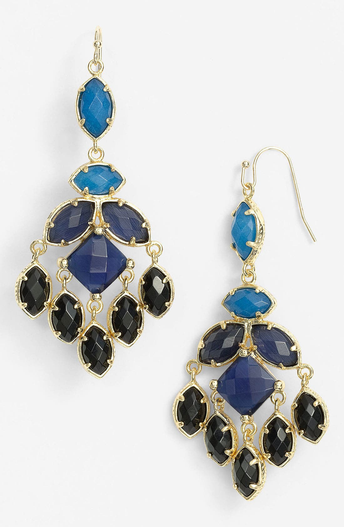 Main Image - Kendra Scott 'Viola' Chandelier Earrings