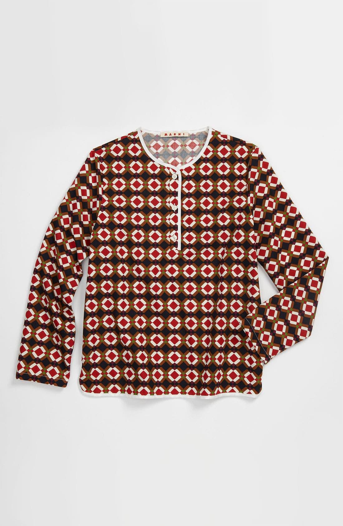 Main Image - Marni Print Sweater (Little Girls & Big Girls)