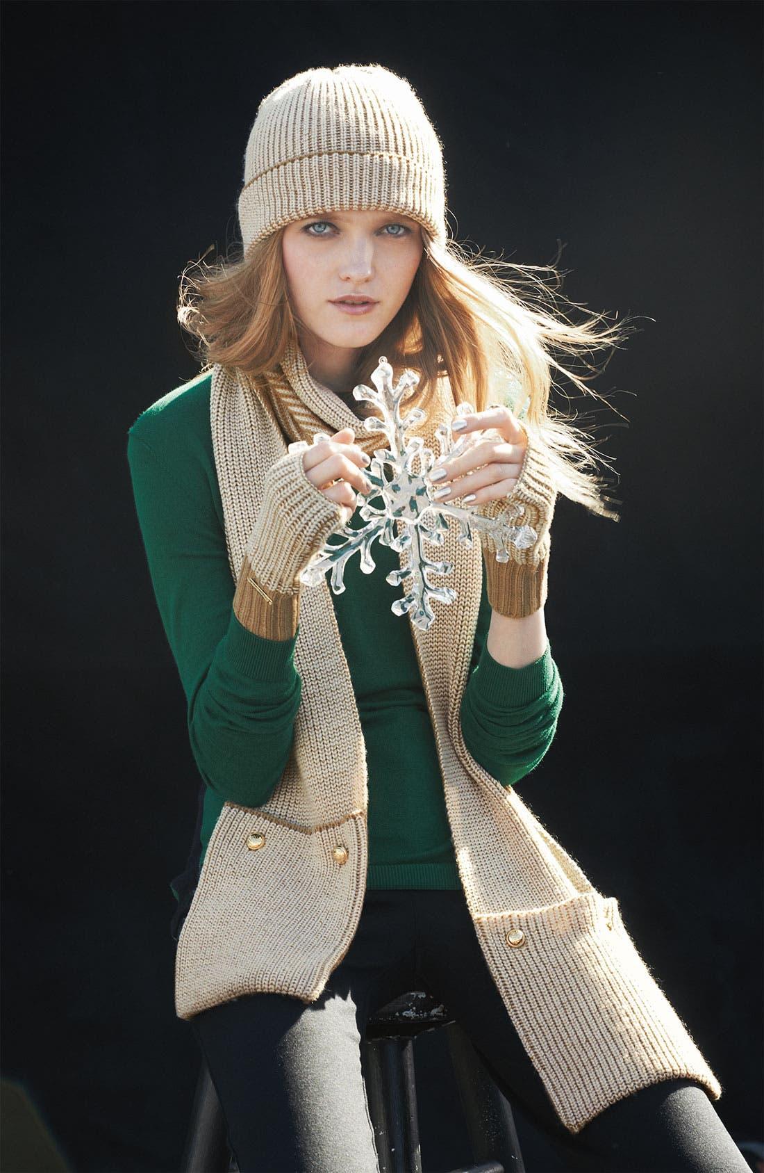 Alternate Image 2  - MICHAEL Michael Kors Fingerless Gloves