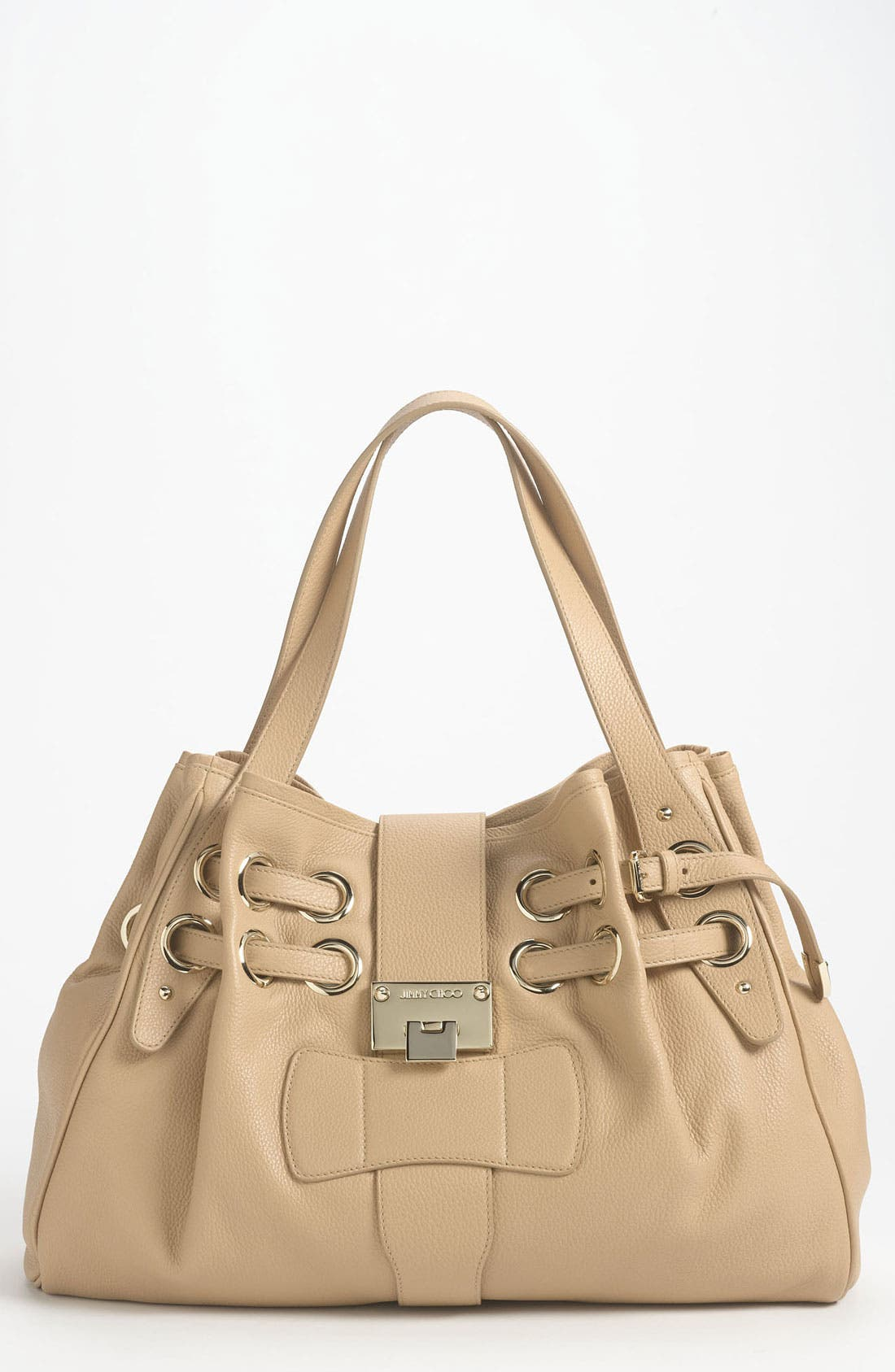 Alternate Image 1 Selected - Jimmy Choo 'Ramona' Leather Shopper