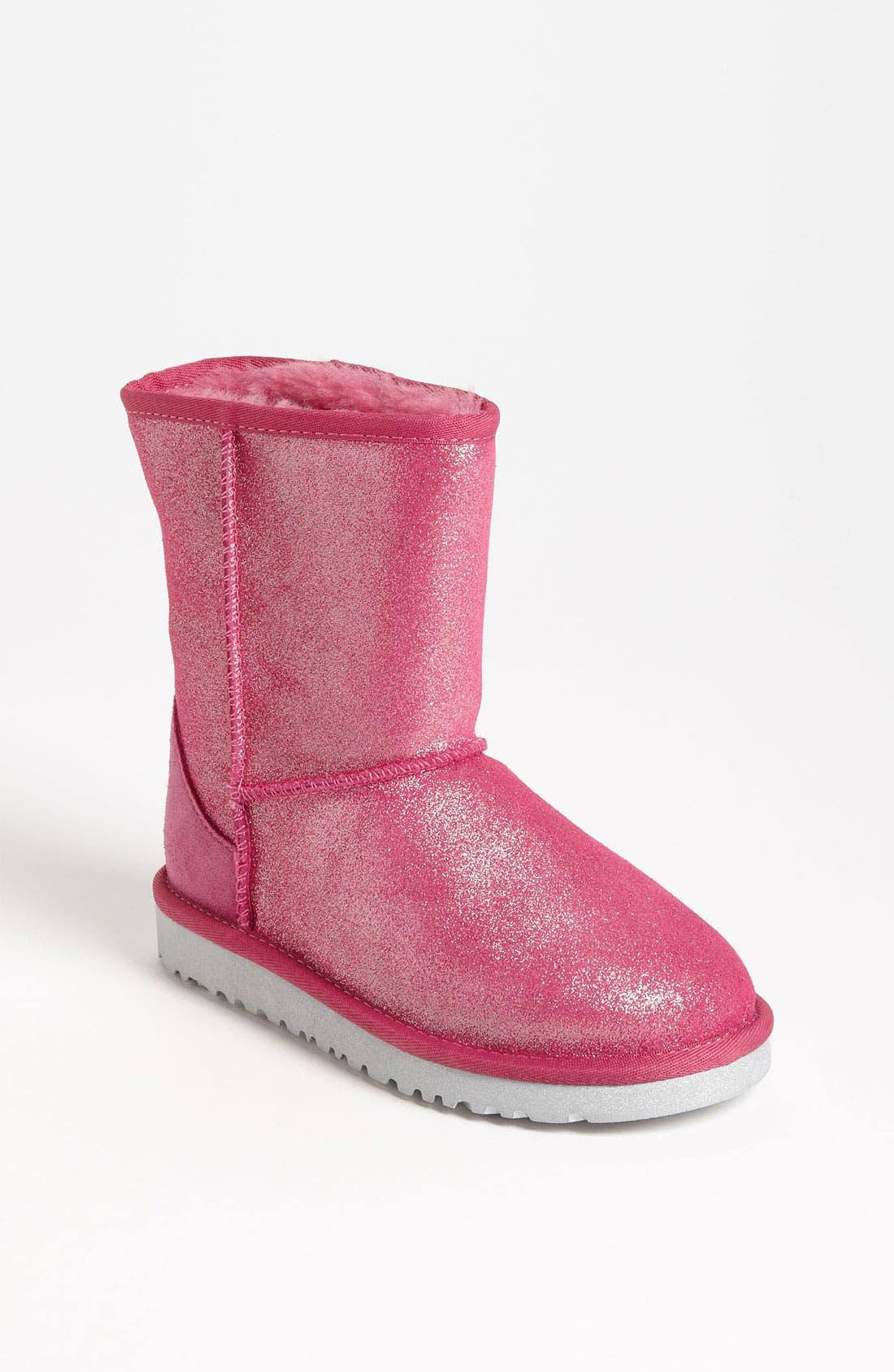 Alternate Image 1 Selected - UGG® Australia 'Classic Glitter' Boot (Walker, Toddler, Little Kid & Big Kid)