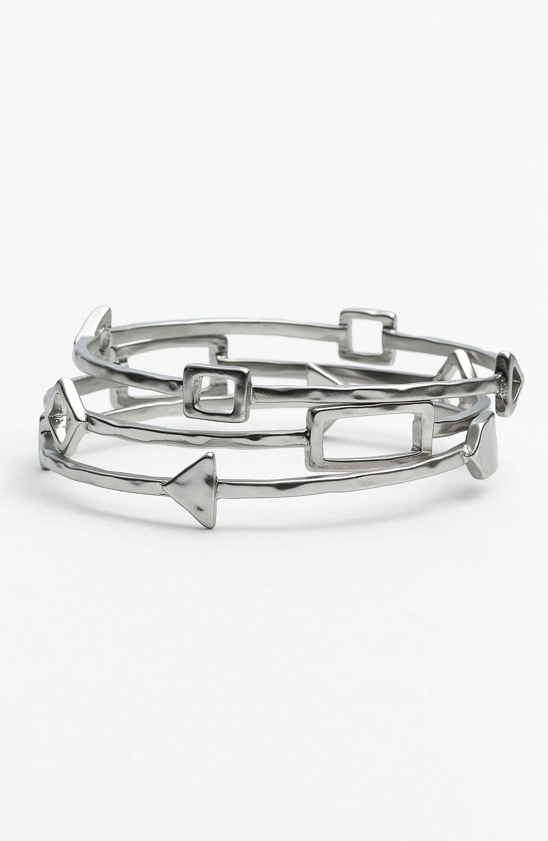 Alternate Image 1 Selected - Nordstrom Tribal Cutout Bangles (Set of 3)