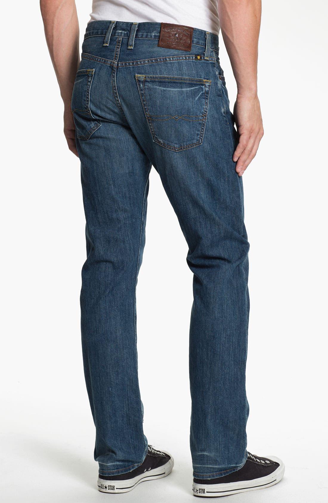 Alternate Image 2  - Lucky Brand '121 Heritage' Slim Straight Leg Jeans (Ol' Vicksburg)