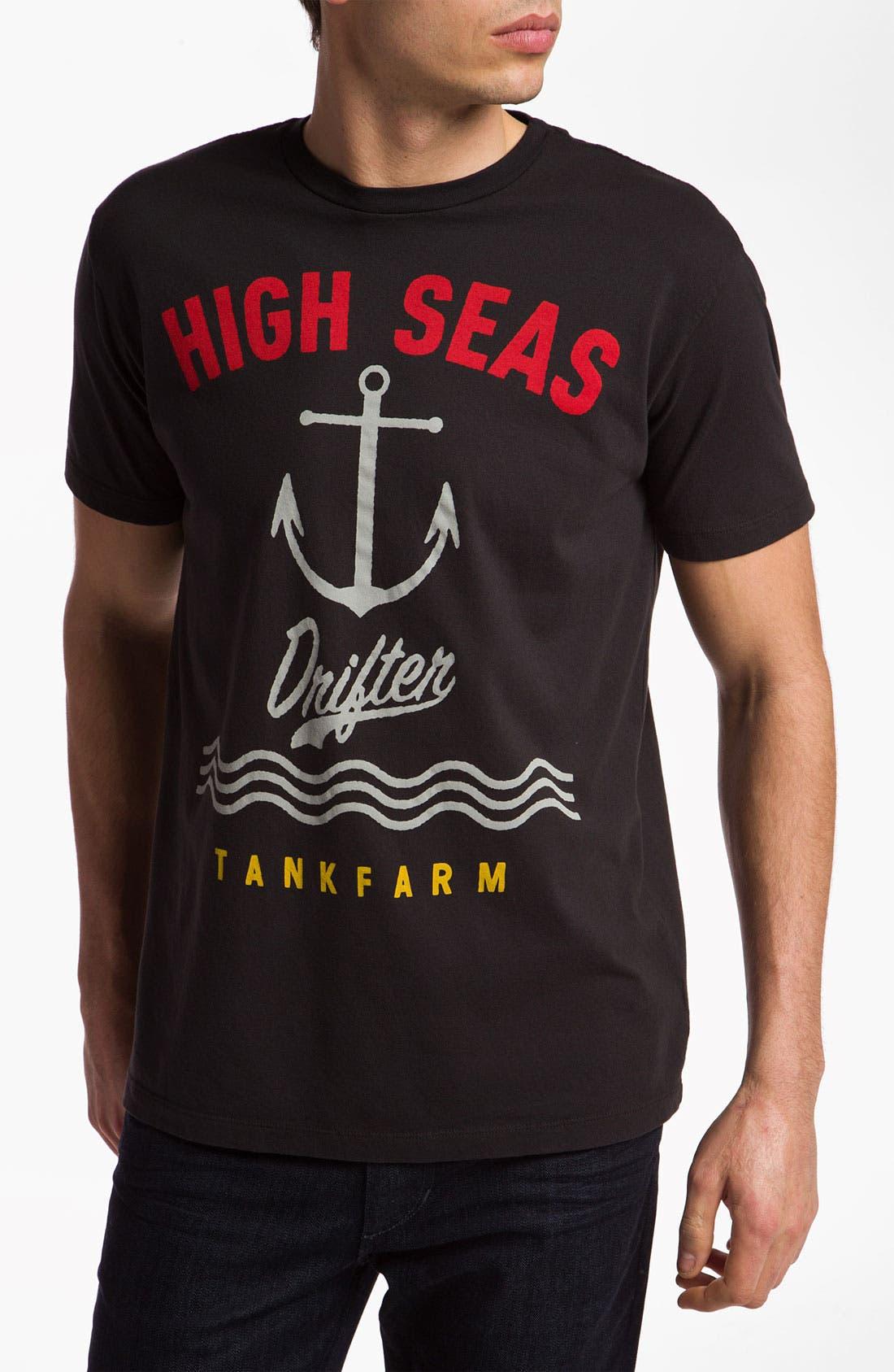 Main Image - Tankfarm 'High Seas Drifter' Graphic T-Shirt