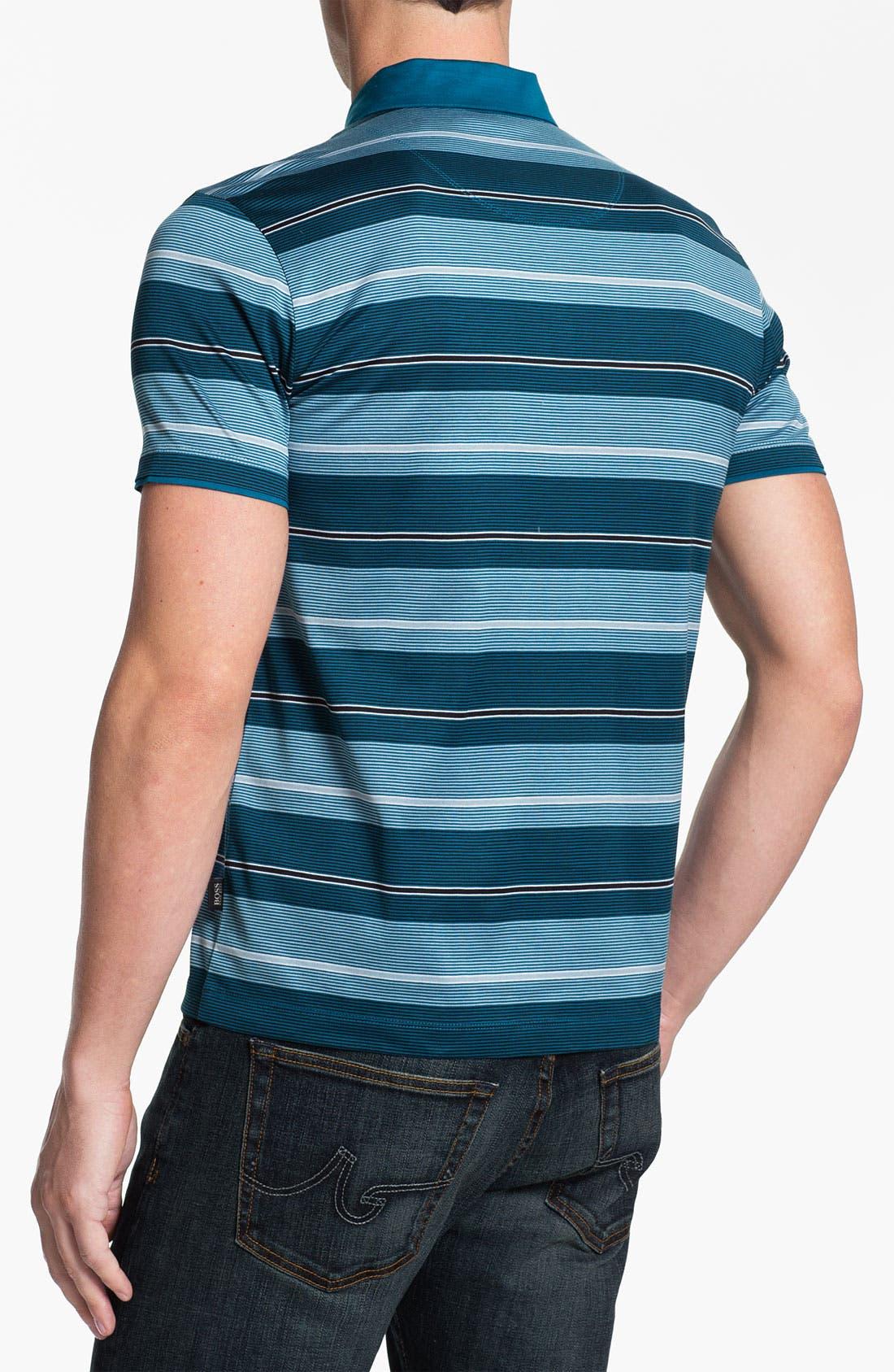 Alternate Image 2  - BOSS HUGO BOSS 'San Remo' Regular Fit Polo
