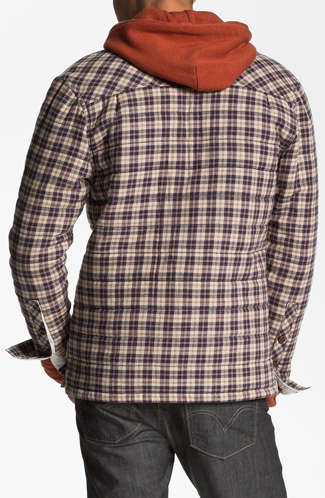 Alternate Image 2  - Marshall Artist Quilted Shirt Jacket