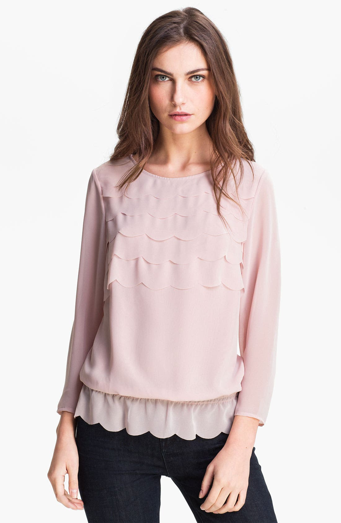 Alternate Image 1 Selected - Ted Baker London Ruffle Top