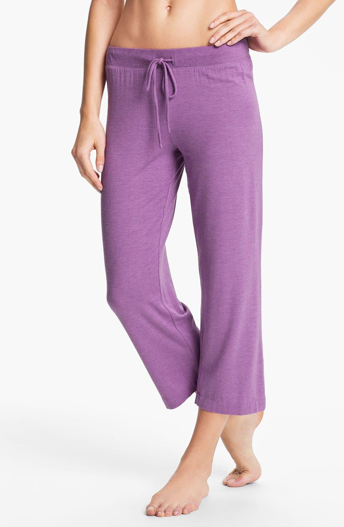 Alternate Image 1 Selected - DKNY '7 Easy Pieces' Capri Pants
