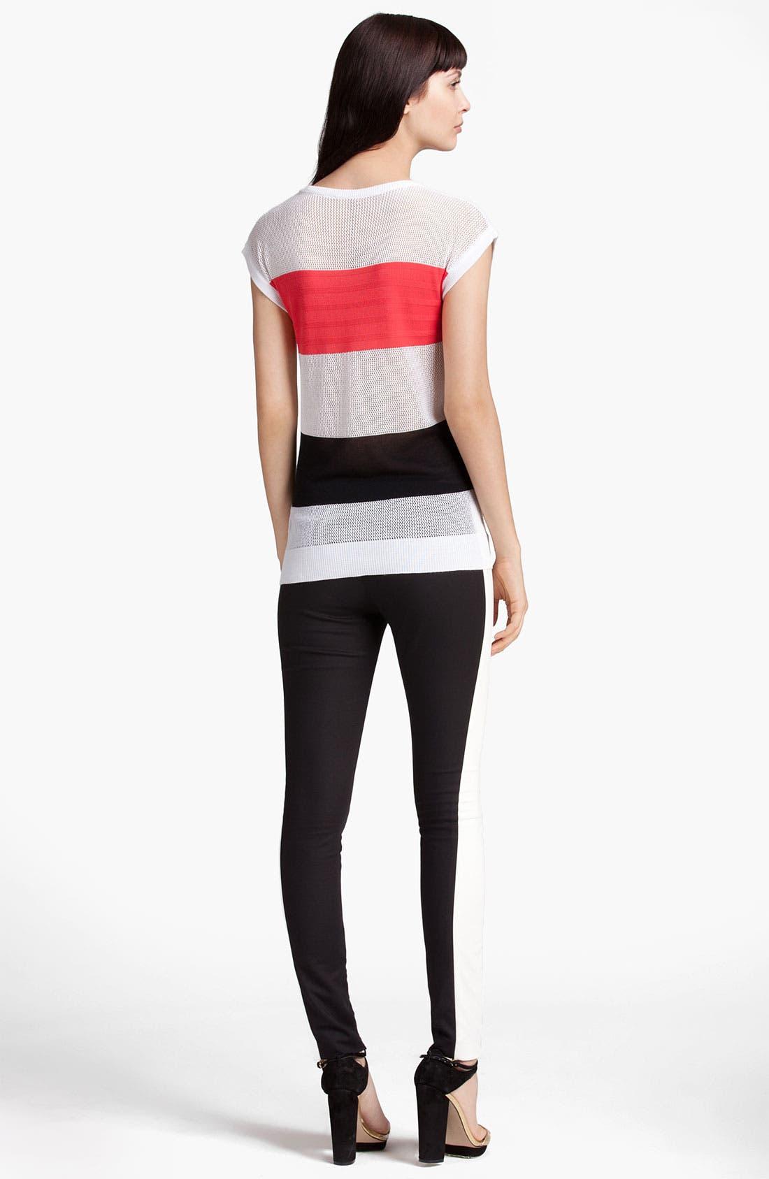 Alternate Image 3  - MSGM Colorblock Stripe Sweater